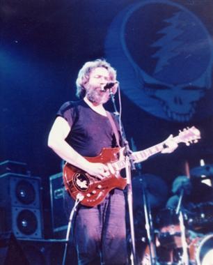 Jerry Garcia in Glens Falls, NY 5-5-81