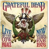Live At The Cow Palace New Years 1976 album cover.
