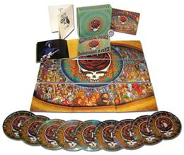 Winterland 1973 The Complete Recordings boxed set contents.