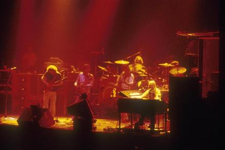 Grateful Dead on stage 11-8-79