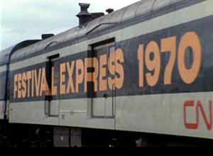 Grateful Dead Festival Express train.