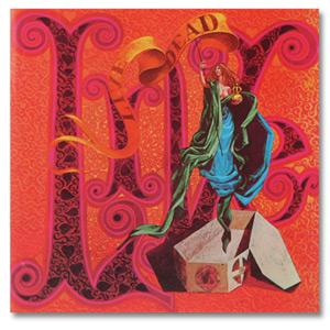 Album cover art by Bob Thomas for Live/Dead
