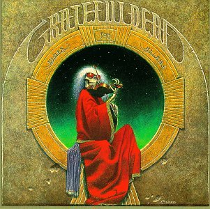 Grateful Dead album cover - Blues For Allah by Philip Garris