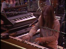 Brent Mydland screenshot from the Grateful Dead Dead Ahead DVD.