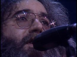 Jerry Garcia closeup.