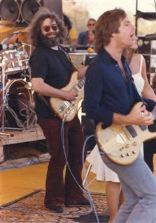 Grateful Dead on stage 6-4-78
