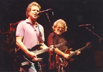 Grateful Dead photos - Bobby and Jerry 3-27-93