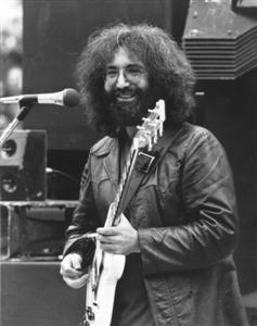 Grateful Dead photos - Jerry Garcia in Golden Gate Park 9-28-75