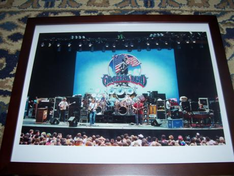 Grateful Dead on stage at the Greek Theater 6-14-85