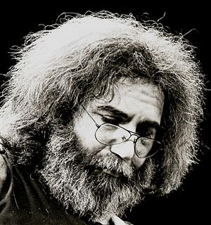 Jerry Garcia closeup 1980