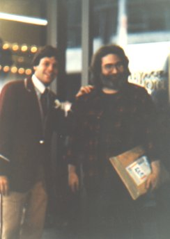 Michael Brito and Jerry Garcia 9-21-82
