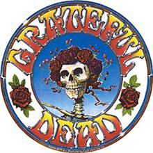 The Grateful Dead skull and roses - affectionately referred to as Bertha.