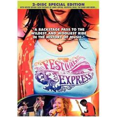 Festival Express DVD cover art.