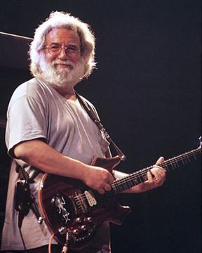 Jerry Garcia at Oakland Coliseum Arena 1-26-93