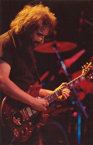 Jerry Garcia in Syracuse, NY 5-17-81