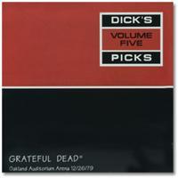 Grateful Dead Dick's Picks 5 album cover art.
