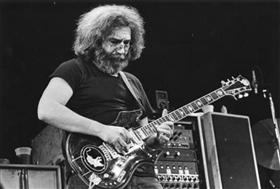Jerry Garcia on stage 10-25-80