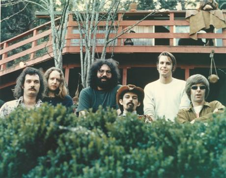 Grateful Dead publicity photo from October 1971.