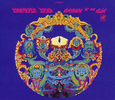 Grateful Dead album art by Bill Walker for Anthem of the Sun