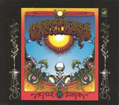 Grateful Dead art by Rick Griffin for Aoxomoxoa