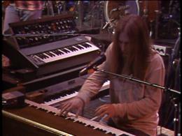 Brent Mydland screenshot from the Grateful Dead Dead Ahead DVD.