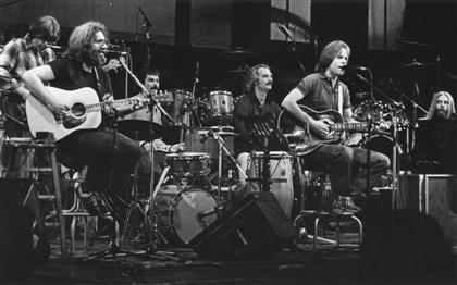 The Grateful Dead onstage at Radio City Music Hall 10-25-80