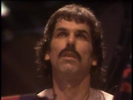 Mickey Hart screenshot from the Grateful Dead Dead Ahead DVD.