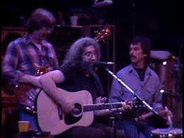 Phil Lesh, Jerry Garcia and Mickey Hart at Radio City Music Hall.