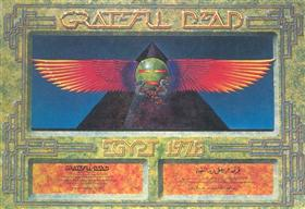 The Grateful Dead Egypt concert poster by Alton Kelley