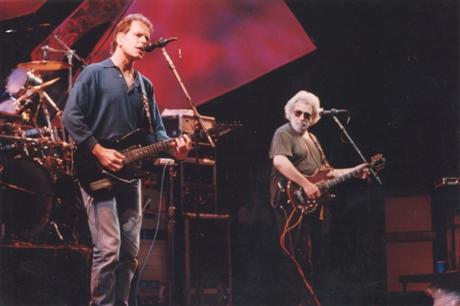 Grateful Dead on stage 6-6-93
