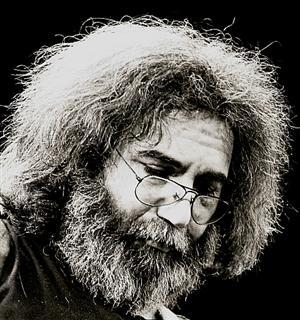 Jerry Garcia closeup 1980