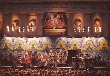 Grateful Dead performing at the Greek Theater 9-13-81